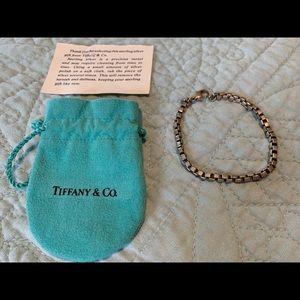Tiffany Venetian Link bracelet sterling silver